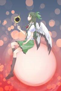 Rating: Safe Score: 2 Tags: akatsukimaru reiuji_utsuho touhou wings User: yumichi-sama