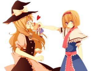 Rating: Safe Score: 28 Tags: alice_margatroid kirisame_marisa touhou yamada_(onigori105) User: Cendrillon
