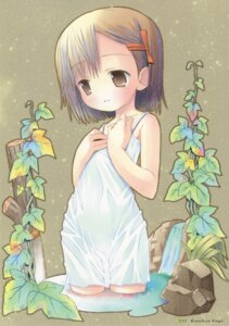 Rating: Safe Score: 11 Tags: breast_hold dress kinoshita_ringo otogi_juushi_akazukin pop summer_dress wet_clothes User: petopeto