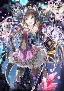 Rating: Safe Score: 17 Tags: animal_ears dress fuyuki030 heels nekomimi princess_connect!_re:dive skirt_lift stockings tail thighhighs weapon User: sym455