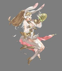 Rating: Questionable Score: 5 Tags: animal_ears armor bunny_ears cleavage fire_emblem fire_emblem_heroes heels kozaki_yuusuke nintendo pantyhose sharena torn_clothes transparent_png User: Radioactive