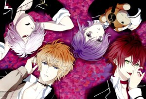 Rating: Safe Score: 6 Tags: crease diabolik_lovers kuroiwa_yumi male sakamaki_ayato sakamaki_kanato sakamaki_shuu sakamaki_subaru screening User: Black_sister