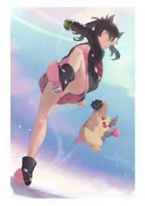 Rating: Questionable Score: 41 Tags: bibimbub cleavage dress heels mary_(pokemon) pantsu pokemon pokemon_sword_and_shield skirt_lift User: yanis