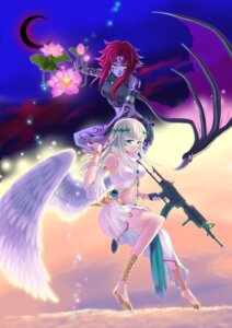 Rating: Safe Score: 13 Tags: angel devil gun kizuna wings User: MyNameIs