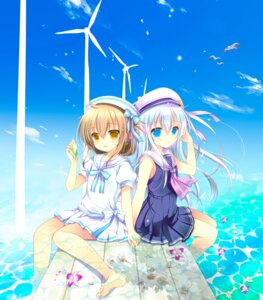 Rating: Safe Score: 53 Tags: feet hibiki_(kancolle) inazuma_(kancolle) kantai_collection shirogane_hina User: 椎名深夏