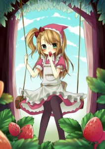 Rating: Safe Score: 19 Tags: amene_kurumi dress little_red_riding_hood_(character) red_riding_hood User: charunetra