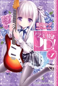 Rating: Questionable Score: 14 Tags: duplicate goto_jun guitar pantyhose tenshi_no_three_piece! tinkle User: kiyoe