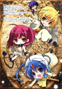 Rating: Safe Score: 8 Tags: chibi magi_the_labyrinth_of_magic nanaca_mai nanacan User: Twinsenzw