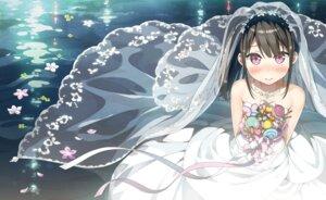 Rating: Safe Score: 85 Tags: dress kantoku shizuku_(kantoku) wedding_dress wet_clothes User: AltY