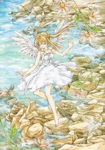 Rating: Safe Score: 6 Tags: dress otomiya_haine shinshi_doumei_cross tanemura_arina wings User: syaoran-kun