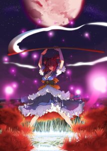 Rating: Safe Score: 24 Tags: cleavage onozuka_komachi touhou tsunekun User: charunetra