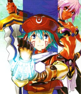 Rating: Safe Score: 11 Tags: .hack// .hack//xxxx blackrose kikuya_megane kite_(.hack) User: Radioactive