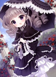 Rating: Safe Score: 75 Tags: chitosezaka_suzu dress gothic_lolita lolita_fashion umbrella User: drop