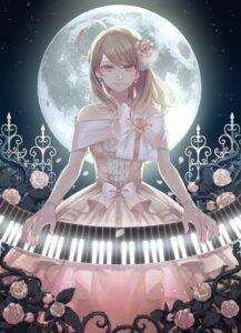 Rating: Safe Score: 26 Tags: akamatsu_kaede dangan-ronpa dress xino User: Mr_GT