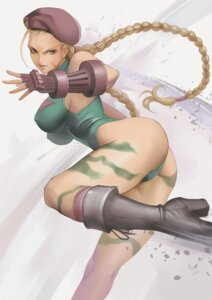 Rating: Questionable Score: 20 Tags: ass cameltoe cammy_white dantewontdie erect_nipples heels leotard street_fighter tattoo User: charunetra