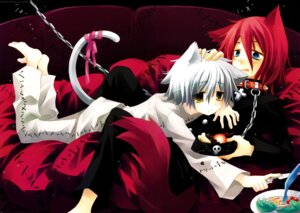 Rating: Safe Score: 33 Tags: animal_ears dr_franken_stein male nekomimi sakurazawa_izumi soul_eater spirit tail User: HSkeleton