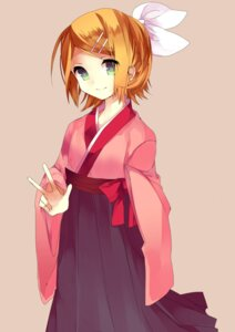 Rating: Safe Score: 21 Tags: japanese_clothes kagamine_rin vocaloid yamorishiki User: Zenex