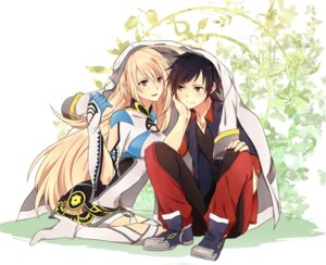 Rating: Safe Score: 15 Tags: jude_mathis mira_maxwell tales_of tales_of_xillia zubora_no_kintoki User: SlenderMan