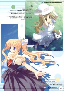Rating: Safe Score: 13 Tags: air dress kamio_misuzu kitsune kogitsune muramasa_ryuunosuke natsume_yuujinchou neko nyanko seifuku summer_dress tail to_be_continued User: fireattack