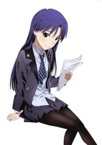 Rating: Safe Score: 44 Tags: headphones kisaragi_chihaya nishigori_atsushi pantyhose the_idolm@ster User: animeprincess