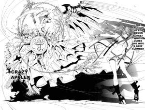 Rating: Questionable Score: 9 Tags: air_gear armor breasts monochrome noyamano_ringo oh!_great wings User: Radioactive