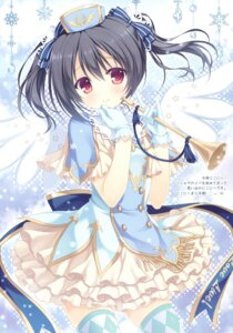 Rating: Safe Score: 79 Tags: allegro_mistic dress love_live! takano_yuki thighhighs yazawa_nico User: Twinsenzw