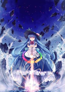 Rating: Safe Score: 29 Tags: hinanawi_tenshi sword t.m_(aqua6233) touhou User: Mr_GT