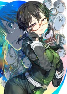 Rating: Safe Score: 35 Tags: megane mikazuki_akira shino_asada sword_art_online User: blooregardo