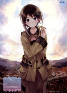Rating: Safe Score: 86 Tags: kishida_mel sorami_kanata sora_no_woto uniform User: fireattack