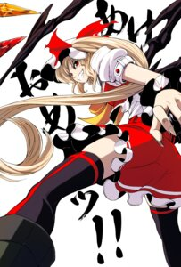 Rating: Safe Score: 10 Tags: flandre_scarlet imizu thighhighs touhou wings User: charunetra