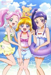 Rating: Safe Score: 18 Tags: asahina_mirai haa-chan_(precure) izayoi_riko mahou_girls_precure! mofurun_(precure) pretty_cure swimsuits yamaoka_naoko User: drop
