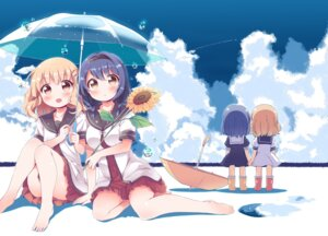 Rating: Safe Score: 40 Tags: chibi furutani_himawari oomuro_sakurako seifuku takahero umbrella yuru_yuri User: Mr_GT
