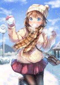 Rating: Safe Score: 19 Tags: kyon_(kyouhei-takebayashi) pantyhose sweater User: BattlequeenYume