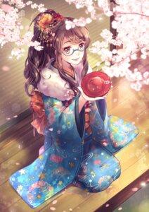 Rating: Safe Score: 27 Tags: kimono megane tagme User: Mr_GT