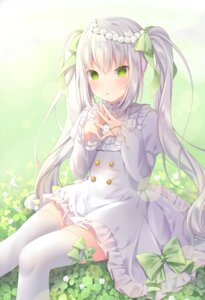 Rating: Safe Score: 80 Tags: amashiro_natsuki dress thighhighs User: Mr_GT