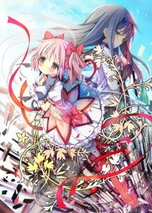 Rating: Safe Score: 24 Tags: akemi_homura kaname_madoka neko puella_magi_madoka_magica shino_(eefy) User: fairyren