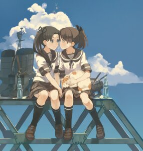 Rating: Safe Score: 42 Tags: ayanami_(kancolle) cosmic kantai_collection neko seifuku shikinami_(kancolle) User: Mr_GT