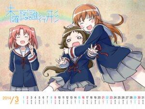 Rating: Safe Score: 22 Tags: calendar mikakunin_de_shinkoukei mitsumine_mashiro wallpaper yonomori_benio yonomori_kobeni User: HV