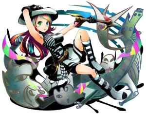 Rating: Safe Score: 25 Tags: bike_shorts divine_gate dress heels ucmm User: saemonnokami