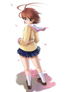 Rating: Safe Score: 14 Tags: clannad furukawa_nagisa mikazuki_akira seifuku tri-moon! User: Radiosity