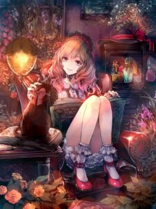 Rating: Safe Score: 92 Tags: hina_xoxo lolita_fashion neko User: ddns001