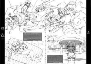 Rating: Safe Score: 3 Tags: 5_nenme_no_houkago bikini cleavage crease dress fixme kantoku monochrome no_bra pantsu seifuku sketch swimsuits tagme thighhighs User: Hatsukoi