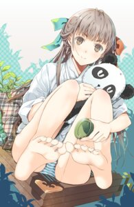 Rating: Questionable Score: 59 Tags: feet pantsu pvmivs shimapan User: KazukiNanako