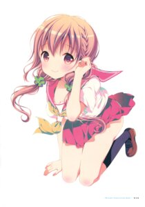 Rating: Safe Score: 38 Tags: hinako_note mitsuki_(mangaka) seifuku User: fireattack