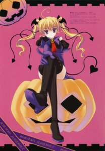 Rating: Safe Score: 20 Tags: halloween ice_&_choco nanao_naru thighhighs User: admin2
