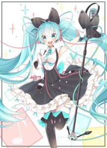 Rating: Safe Score: 8 Tags: chuuko_anpu hatsune_miku headphones thighhighs vocaloid User: Mr_GT