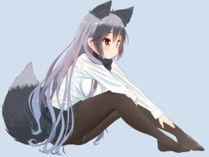 Rating: Safe Score: 46 Tags: animal_ears kemono_friends pantyhose retsu_maru silver_fox tail User: Mr_GT