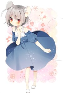 Rating: Safe Score: 36 Tags: abe_suke animal_ears dress nazrin tail touhou User: Mr_GT