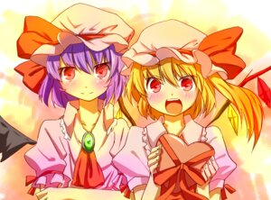 Rating: Safe Score: 7 Tags: ema20 flandre_scarlet remilia_scarlet touhou User: Radioactive