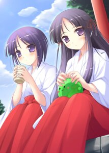 Rating: Safe Score: 14 Tags: happiness kamijou_saya ko~cha miko takamine_koyuki windmill User: admin2